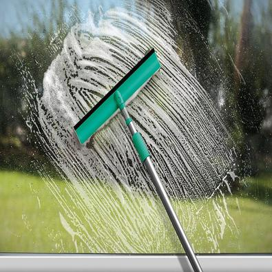 Mop Limpa Vidros com Cabo Articulado Noviça 1,18m Bettanin Verde