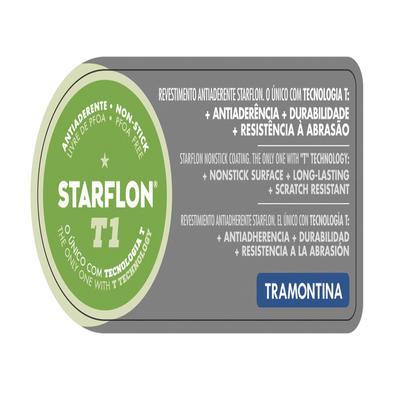 Jogo para Fondue Tramontina Paris Preto em Alumínio com Revestimento  Antiaderente Starflon T1 Tramontina