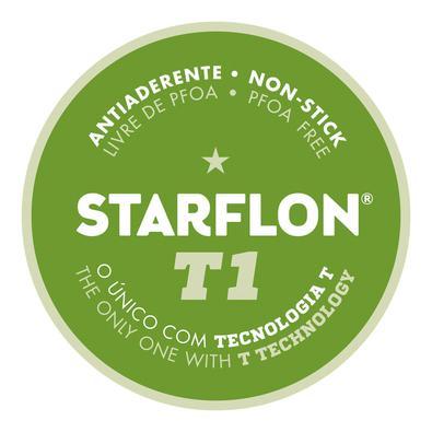 Bistequeira Tramontina Loreto Alumínio Revestimento Antiaderente Starflon 26 cm 1,0 L Vermelha Tramontina