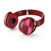 Fone Headphone Premium Bluetooth SD/Aux/FM Vermelho Multilaser - PH266