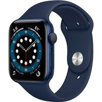 Apple Watch Series 6 S6, 40mm, GPS, Pulseira Sport, Azul - B08J5XF5SR