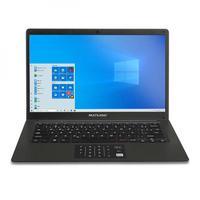 Notebook Multilaser, 14 Pol., Pentium, 4GB, 64GB, Windows 10, Preto - PC310