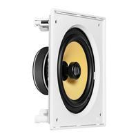 Caixa Acústica de Embutir JBL CI8S 100W RMS Branco