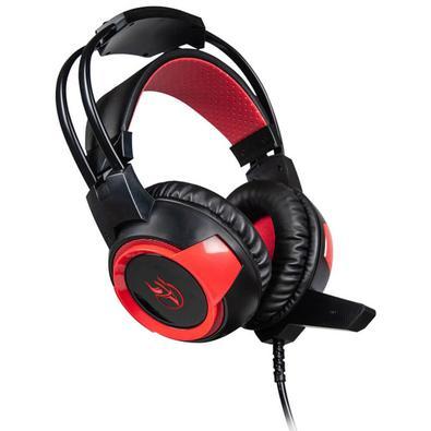 Headset Gamer Kross Elegance Arkenstan, 7.1, Preto/Vermelho - KE-HS150