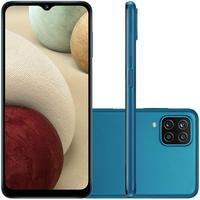 Smartphone Samsung Galaxy A12, 64GB, Octa-Core, Câmera Quadrupla, Tela 6.5