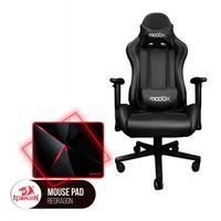 Kit Bela Cadeira Gamer MoobX Thunder + MousePad Redragon Capricorn