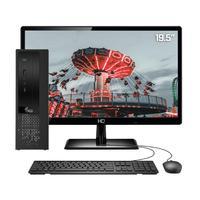 Computador Completo 3green Exclusive Intel Core i3 12GB com SSD 60GB e HD 2TB Wifi Dual Band Monitor 19,5´´ HDMI PC CPU