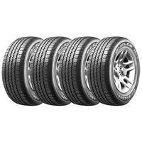 Combo Bridgestone com 4 Pneus 245/70R16  Dueler H/T 684 III Ecopia 111T (Original VW Amarok)
