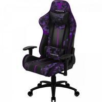 Cadeira Gamer BC3 Camo/RX ThunderX3, Suporta até 150Kg, Camuflada/Roxo