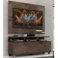 Rack Com Painel Home Buzios 1,2 M Para Tv 48´´  Chocolate
