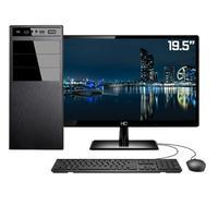 "Computador Completo Intel 7ª Gen, 8GB, SSD 120GB, Intel UHD 610, Monitor 19.5"""