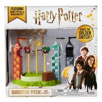 Playset Harry Potter Quidditch Pitch com Mini Figuras