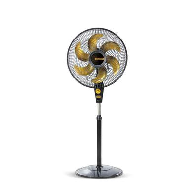 Ventilador de Coluna Mallory Air Timer, Preto e Dourado, 220V