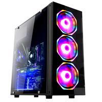 Computador Gamer Fácil com Processador Intel Core i5-9400F (9ª Geração) 4.1GHz, 8GB DDR4, SSD 120GB, Placa de Vídeo AMD Radeon RX550, Fonte 500W, Windows 10