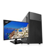 "Computador Desktop ICC, Intel Core I3 3.20 ghz, 4gb, HD 500GB, HDMI FULL HD, Monitor LED 19.5"" - IV2341SM19"