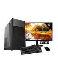 Computador Completo Corporate Asus 4° Gen I5 8gb Hd 2tb Dvdrw Monitor 19