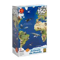 Puzzle 150 Peças Animais do Mundo - Grow