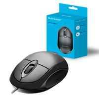 Mouse USB Multilaser MO300 Classic Box Óptico Full Black