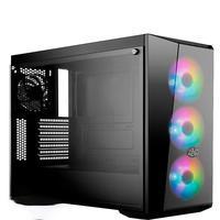 Computador Pc Gamer Fácil Intel Core I7 10700F Décima Geração, 16GB DDR4, GTX 1050TI 4GB, SSD 240GB, Cooler Master