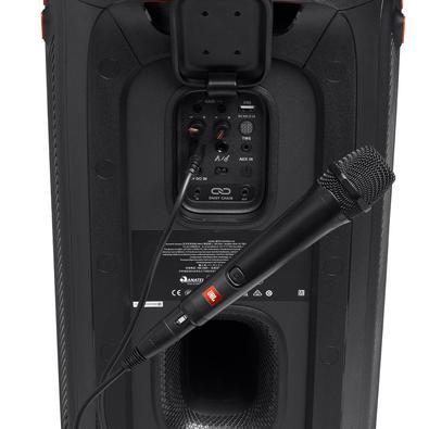 Microfone JBL Vocal Dinâmico Cardióide Com Cabo, Preto - Pbm100