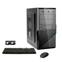 Computador Corporate I3 8gb 120gb Ssd Dvdrw Kit Multimídia Windows 10