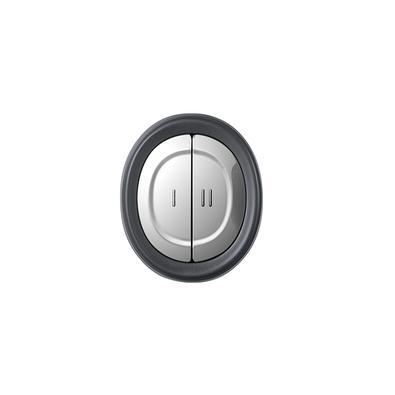 Miniprocessador Black+Decker Com Tigela de Vidro, Gourmand Gris, 110V - MP300G