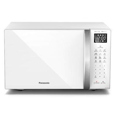 Micro-ondas De Mesa Panasonic Com 34 Litros De Capacidade Branco - Nn-st65lwrun - 220v