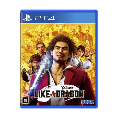 Jogo Yakuza: Like a Dragon - Playstation 4 - Sega