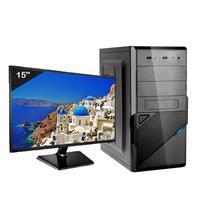 Computador Icc Iv2383swm15 Intel Core I3 8gb Hd 2tb Hdmi Monitor Led Windows 10