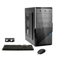 Computador Corporate I3 4gb Hd 2tb Dvdrw Kit Multimídia