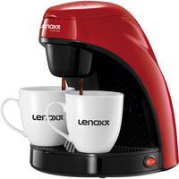 Cafeteira Elétrica Lenoxx Red Coffee, 450W, 2 Xícaras, 220V - PCA031