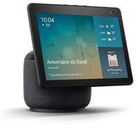 Smart Speaker Echo Show Amazon Com Tela 10,1´´ Hd Movimento E Alexa - Preta