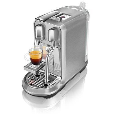 Cafeteira Nespresso Creatista Plus Cromada Para Café Espresso - J520-br-me-ne