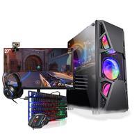 Pc Gamer Completo I5 Gtx 1050 Hd 1tb Ssd 480GB Monitor 27