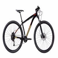 Bicicleta CALOI MTB Moab Aro 29, Microshift, Quadro 17, 18 Velocidades, 2021, Preta