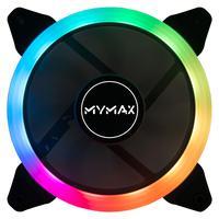 Cooler Mymax Fan 120mm Aura Rgb Com 5 Cores Fixas