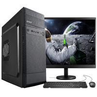 """Computador Completo Fácil Intel Core I5 3470s (terceira Geração) 8gb Ssd 120gb Monitor 19"""" Hdmi Led Teclado E Mouse"""