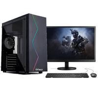 """Computador Gamer Completo Fácil Intel I5 3470s (terceira Geração) 8gb Placa De Vídeo Gt 730 2gb Ssd 120gb Monitor 19"""""""