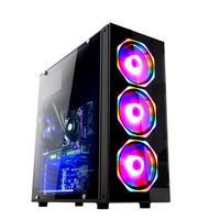 Computador Gamer Fácil Intel Core I5 3470s (terceira Geração) 8gb Gtx 1050ti 4gb Ssd 480gb Fonte 500w