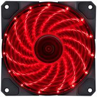 FAN/COOLER, VX Gaming, V.lumi, 15 Pontos de LED, 120X120, Vermelho
