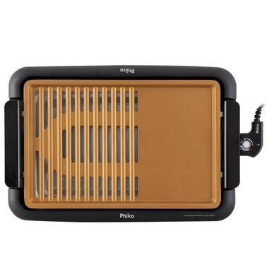 Churrasqueira Elétrica Philco 1500W antiaderente PCQ1500D 220v