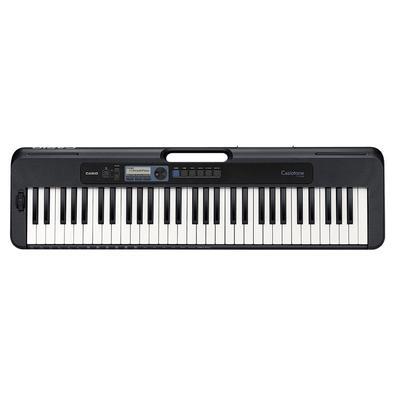 Teclado Musical Casiotone Basico Digital Ct-s300c2-br Preto