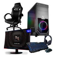 Pc Gamer Completo, Smart, Amd A6-7480 16gb, Ssd 120gb, 400w 80 Plus - Nli82546 E Cadeira
