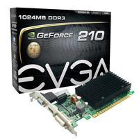 Placa De Vídeo Evga Gt 210 Geforce Ddr3 1gb Ddr3 Low Profile