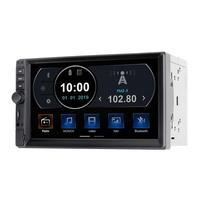Central Multimídia Evolve TV MP5 TV Digital 7 Pol. Cap. 4X45W BT/USB/AUX/Mirror Link Android e IOS Multilaser - GP345