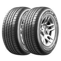 Combo Com 2 Pneus 245/70r16 Bridgestone Dueler H/t 684 Iii Ecopia 111t (original Vw Amarok) #