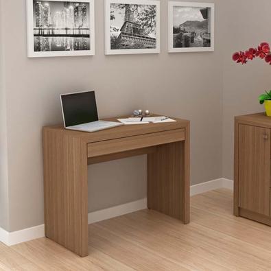 Mesa Para Computador Com 1 Gaveta Me4107 - Tecno Mobili - Amendoa