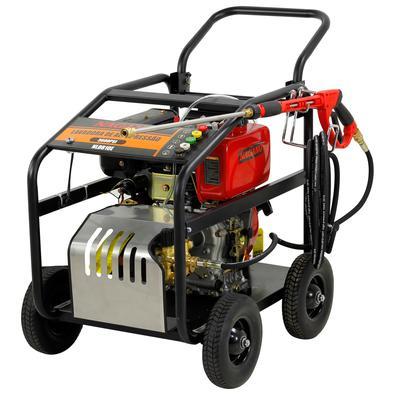 Lavadora De Alta Pressão A Diesel Partida Elétrica 10hp 3400rpm 3600psi Motor Triplex - Nagano