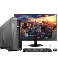 "Computador Completo Fácil Slim Intel 4GB, HD 500GB, c/ Monitor 15"" HDMI Led, Teclado e Mouse"