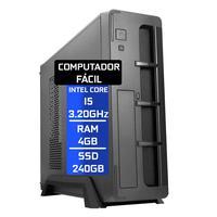 Computador Fácil Slim Intel Core I5, 4GB, SSD 240GB